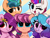 Size: 5154x3889 | Tagged: safe, artist:kittyrosie, hitch trailblazer, izzy moonbow, pipp petals, sunny starscout, zipp storm, earth pony, pegasus, pony, unicorn, g5, :p, adorapipp, adorazipp, blushing, chest fluff, cute, heart eyes, hitchbetes, izzybetes, looking at you, mane five (g5), one eye closed, open mouth, smiling, smiling at you, sunnybetes, tongue out, wingding eyes, wink, winking at you