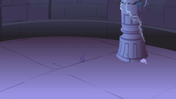 Size: 1280x720 | Tagged: safe, screencap, friendship is magic, background, castle of the royal pony sisters, column, liminal space, no pony, scenic ponyville