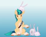 Size: 1280x1024   Tagged: safe, artist:daotterguy, hitch trailblazer, earth pony, g5, colored, flat colors, male, stallion