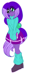 Size: 390x1000 | Tagged: safe, artist:akuoreo, oc, oc only, equestria girls, book, clothes, equestria girls-ified, female, glasses, leg warmers, simple background, solo, sweater, transparent background, turtleneck