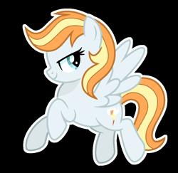 Size: 876x850   Tagged: safe, artist:sunlightshimmer64, oc, oc:fire desh, pegasus, pony, base used, offspring, outline, parent:fire streak, parent:rainbow dash, parents:rainbowstreak, simple background, solo, transparent background