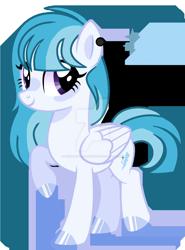 Size: 1280x1726   Tagged: safe, artist:venomous-cookietwt, oc, pegasus, pony, female, mare, simple background, solo, transparent background