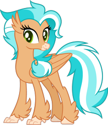 Size: 1674x1946 | Tagged: safe, artist:pegasski, oc, oc:tidal rush, classical hippogriff, hippogriff, female, simple background, solo, transparent background