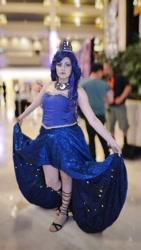 Size: 640x1136 | Tagged: safe, artist:sarahndipity cosplay, princess luna, human, clothes, cosplay, costume, irl, irl human, photo