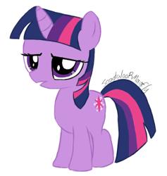 Size: 568x598 | Tagged: safe, artist:scootaloormayfly, twilight sparkle, pony, friendship is magic, solo