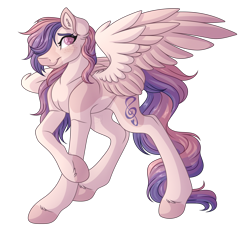 Size: 3120x2940 | Tagged: safe, artist:amazing-artsong, oc, oc only, oc:sunset serenade, pegasus, pony, solo