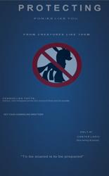 Size: 2068x3340   Tagged: safe, changeling, g5, my little pony: a new generation, canter logic, propaganda, symbol