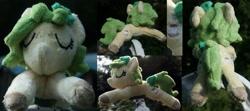 Size: 4503x2000   Tagged: safe, artist:bastler, oc, oc only, oc:nettle vienna, earth pony, pony, female, irl, leaves, mare, photo, plushie, sleeping