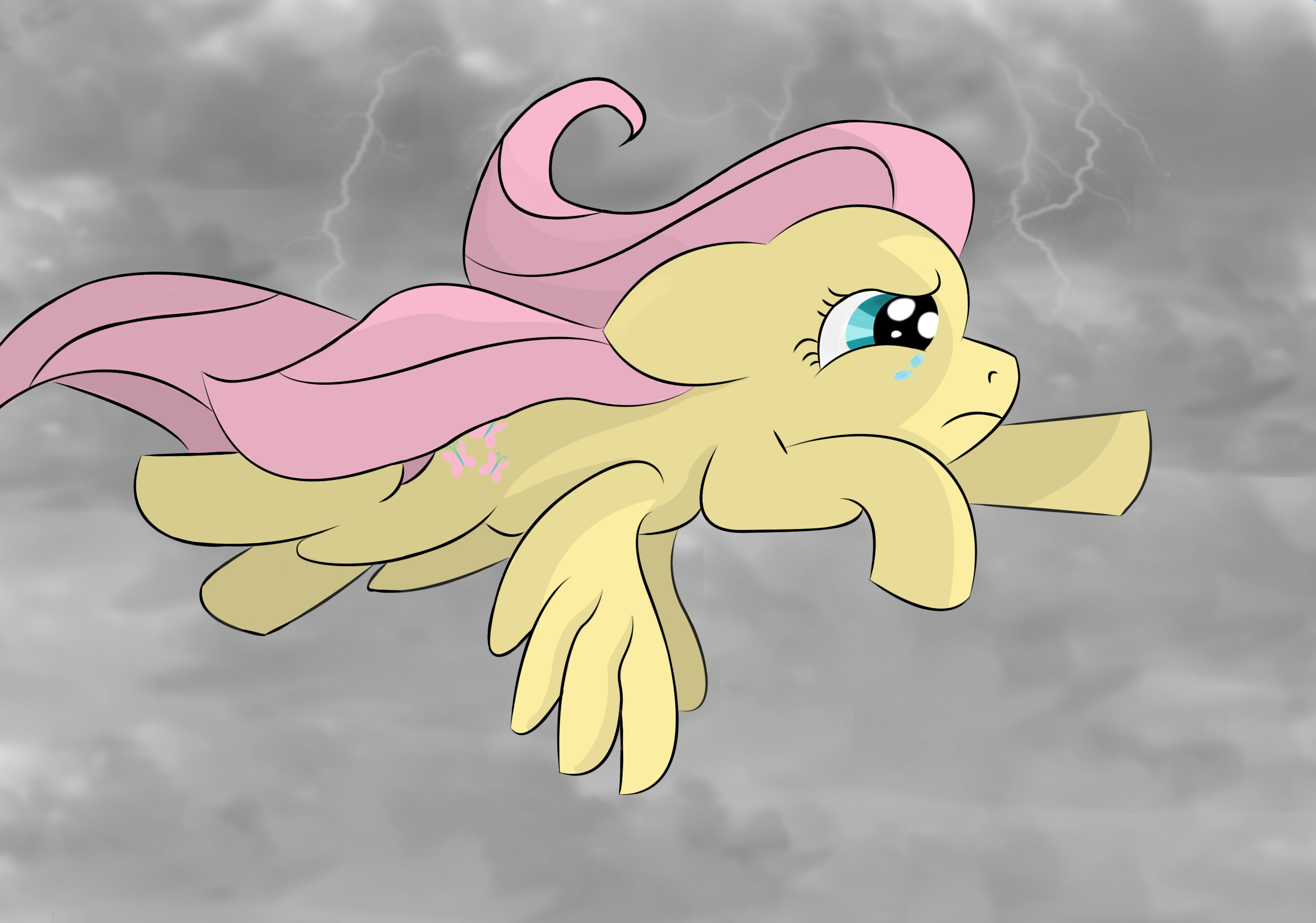 Derpy also known as Muffins and Ditzy Doo is a female Pegasus pony who was given the name Derpy Hooves by the shows internet following due to her crosseyed