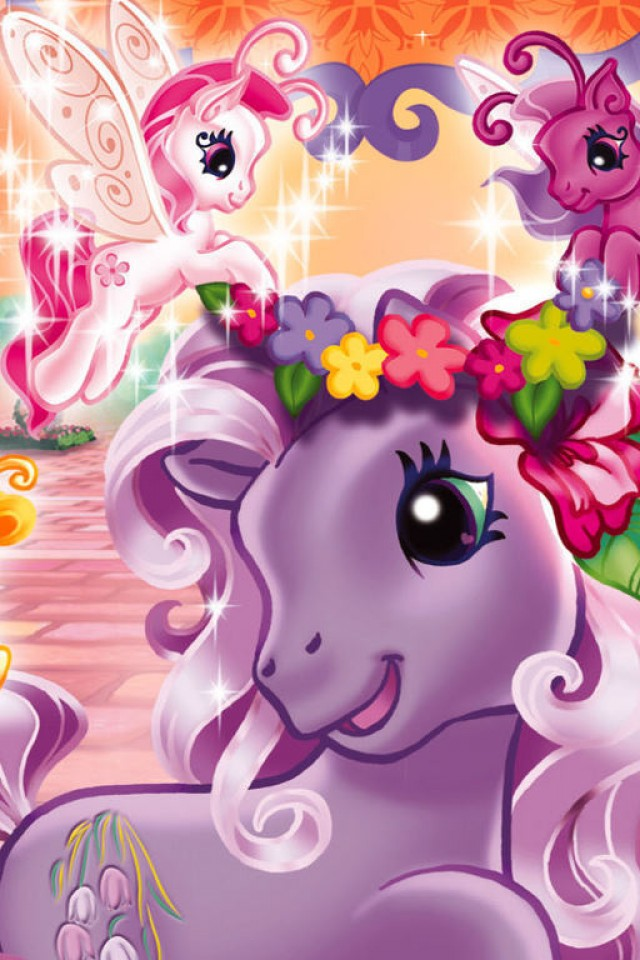 my little pony birthday wallpaper - photo #34