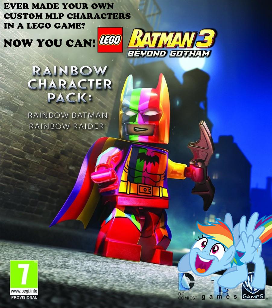 Batman Rides Rainbow Dash by becleigh on DeviantArt  |Batman Rainbow Dash