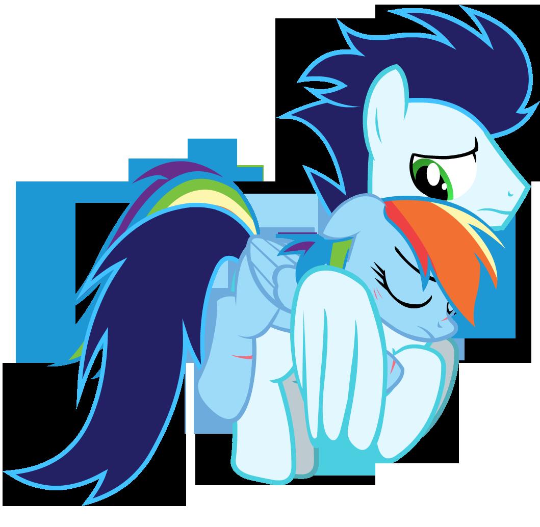 My Little Pony Friendship Is Magic Rainbow Dash And Soarin