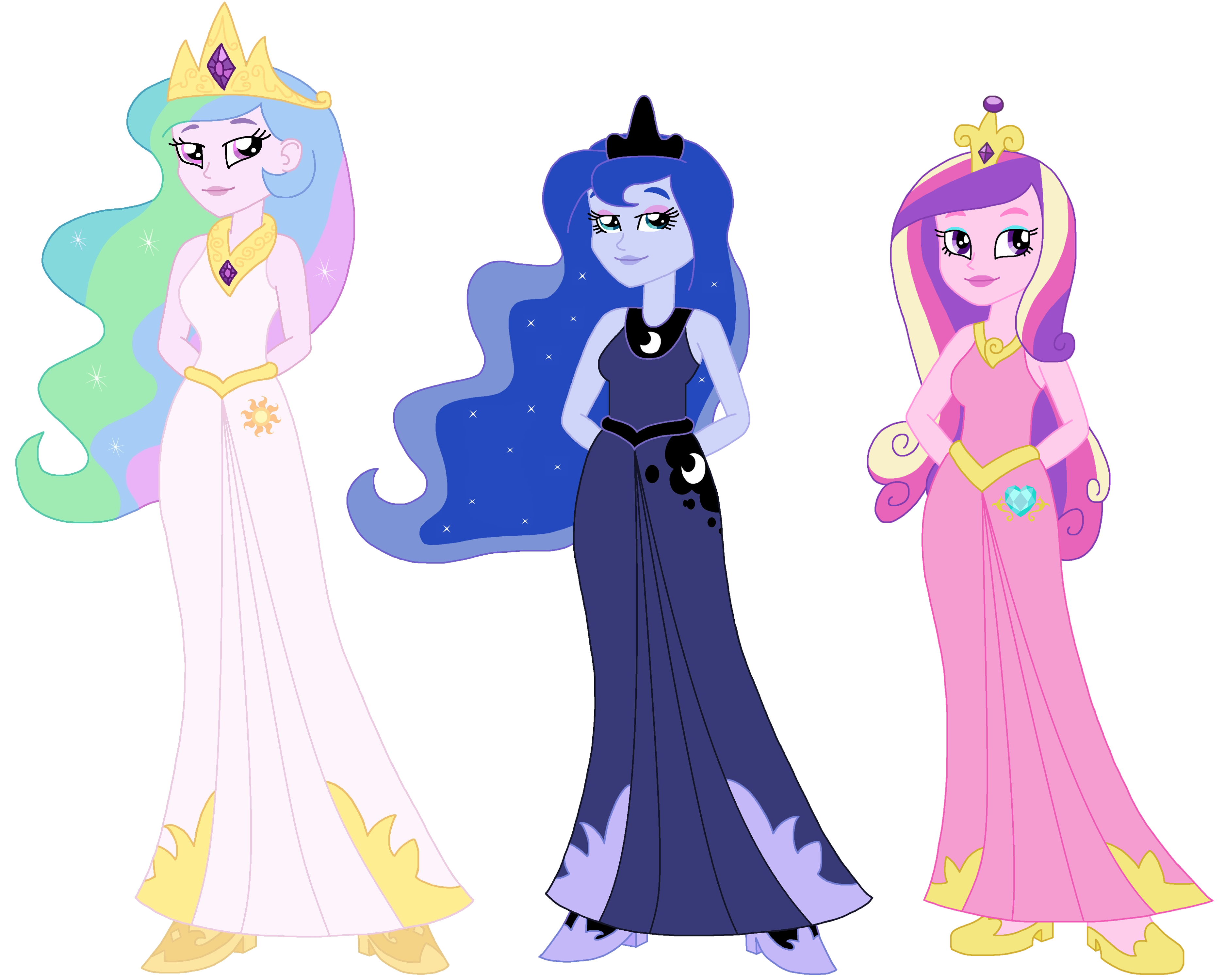 The gallery for --> Equestria Girls Luna And Celestia