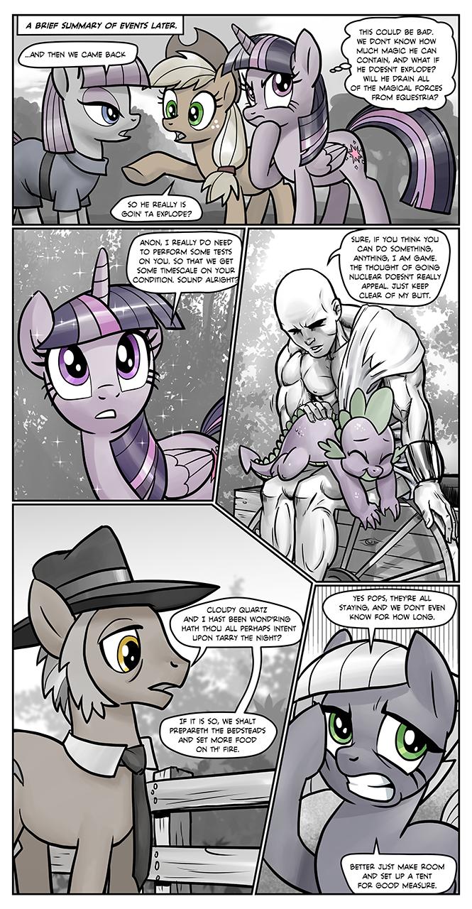 Anon's Pie Adventure 1073736 - alicorn, applejack, artist:pencils, comic, comic