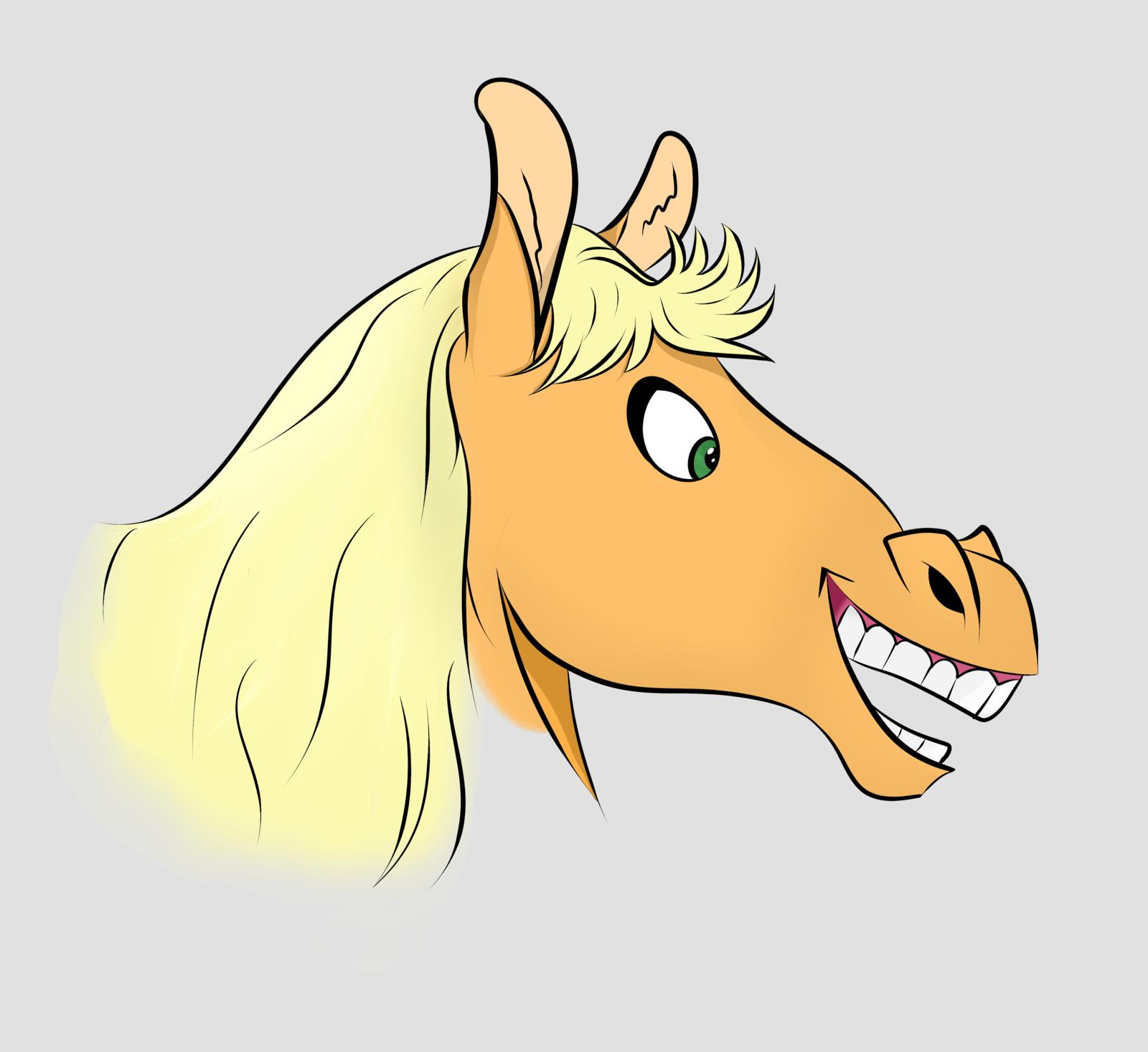 картинка головы коня для вот когда