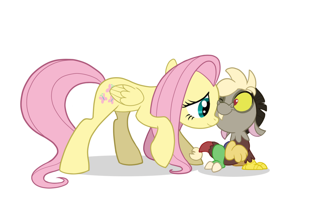 Baby Discord And Fluttershy 400 members - W...