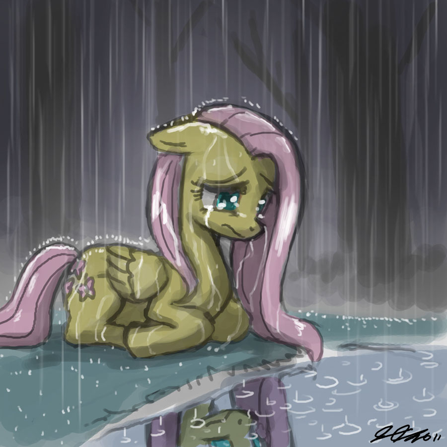 8288__safe_solo_fluttershy_crying_sad_artist-colon-johnjoseco_rain.jpg
