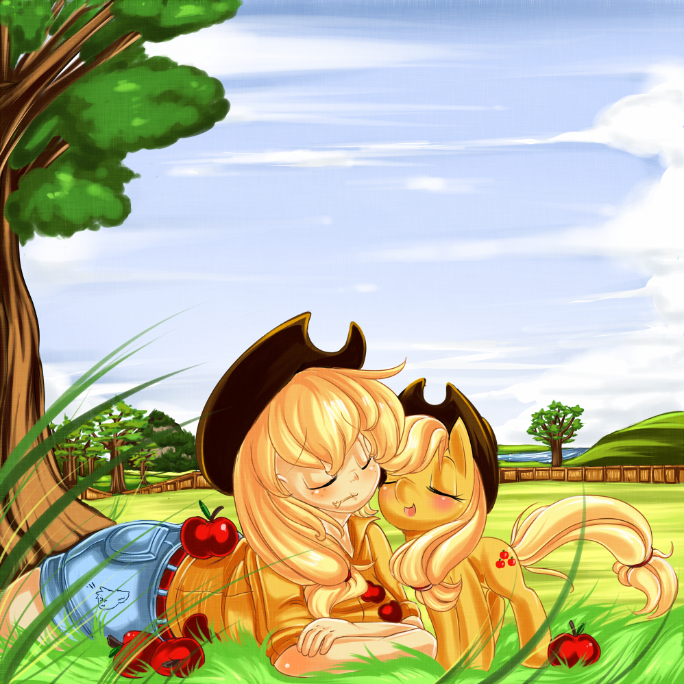 60097__safe_applejack_humanized_cute_pon