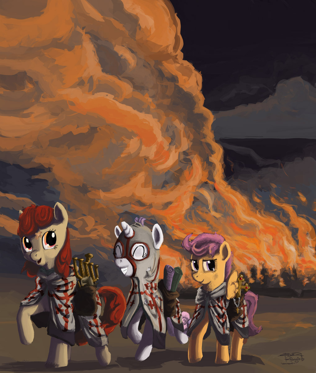 The Cutie Mark Crusaders By Spectralunicorn Mylittlepony