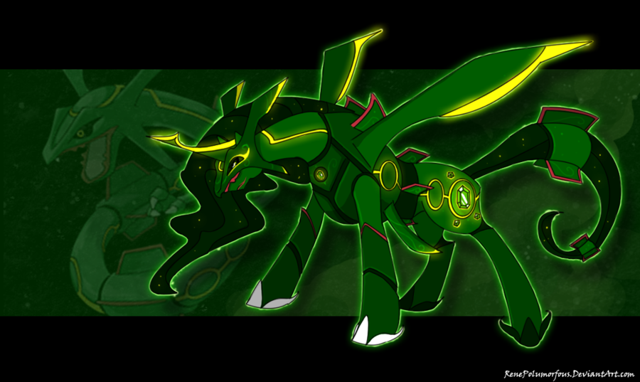 emerald rayquaza wallpapers - photo #18