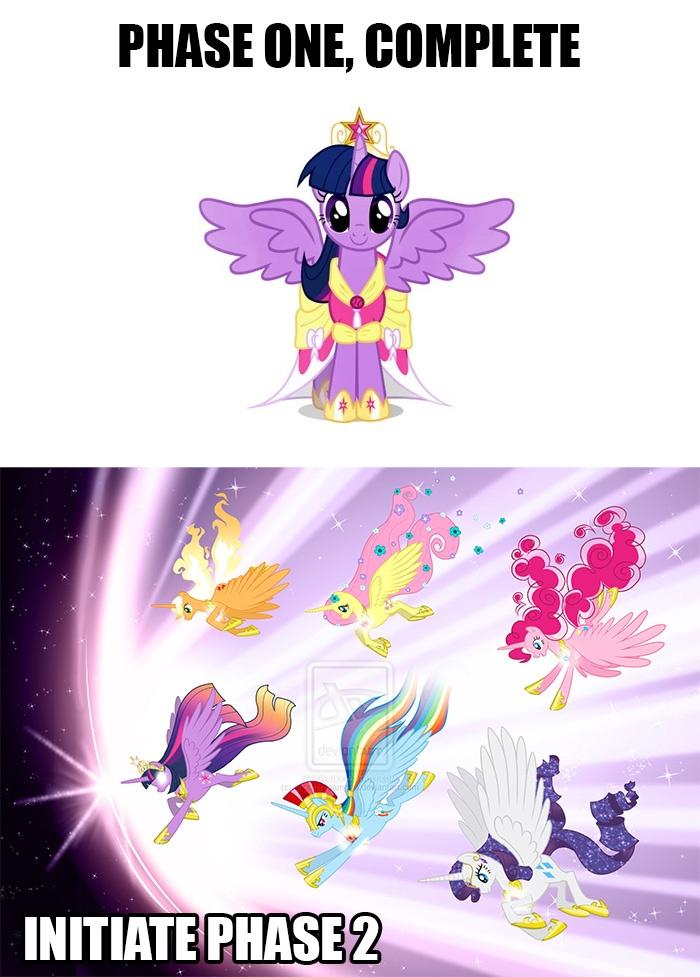 229125__safe_twilight+sparkle_rainbow+dash_pinkie+pie_fluttershy_rarity_applejack_princess+twilight_alicorn_race+swap.jpg