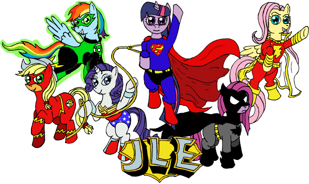 Large Glossy Stickers Superheroes and My Little Pony ...  |Batman Rainbow Dash