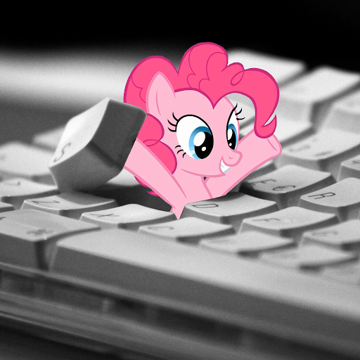 283956__safe_pinkie+pie_arms+in+the+air_earth+pony_female_grin_i+hid+in+your+keyboard_keyboard_looking+down_mare_photo_ponies+in+real+life_pony_smiling.png