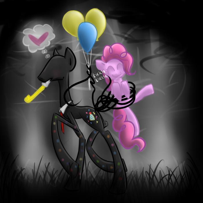 Artist:cerynitian, Balloon, Cute, Pinkie Pie