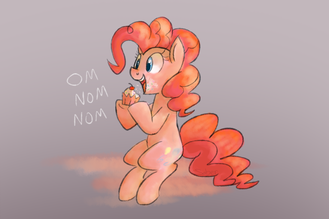369550__safe_solo_pinkie+pie_sitting_eat