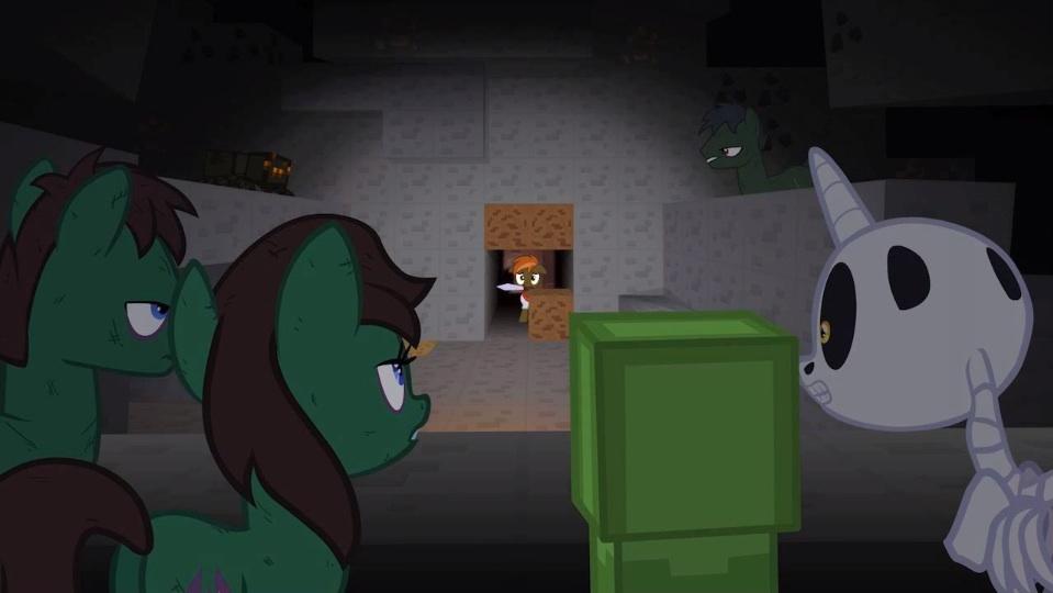 Mob fan names button mash fimfiction - Minecraft zombie vs creeper ...