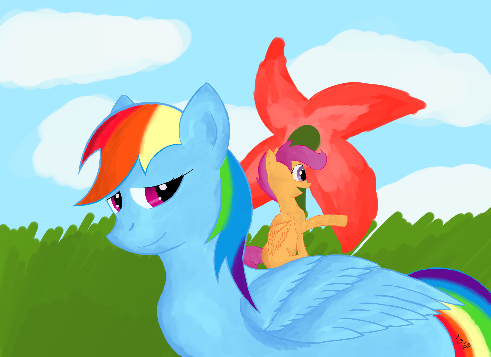 10 Scootaloo from is on drawingnow. 10