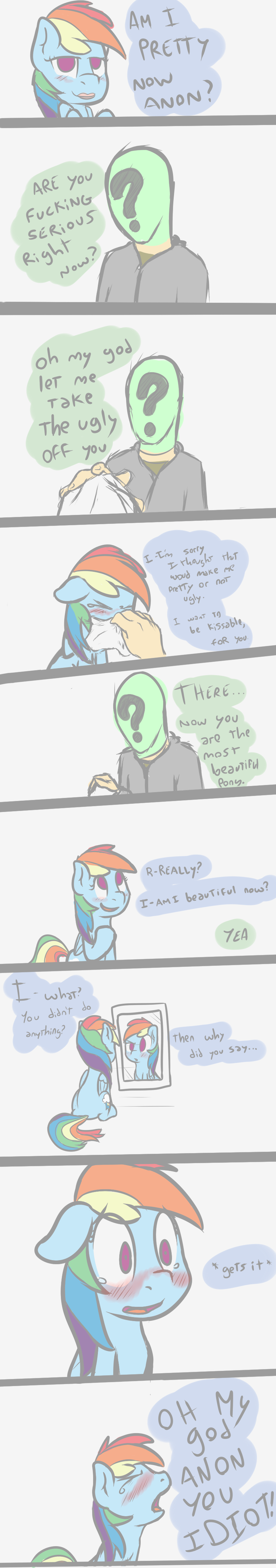 Anon Mlp Comic equestria daily - mlp stuff!: 20+ awesome rainbow dash