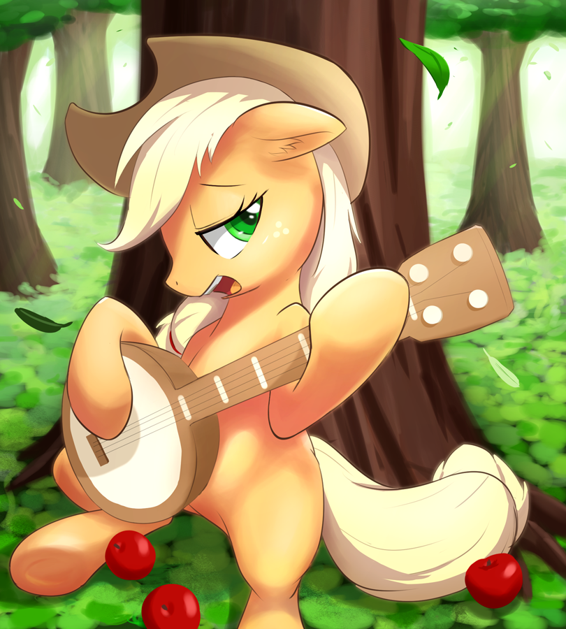 [Image: 528816__safe_solo_applejack_apple_banjo_...aymint.png]