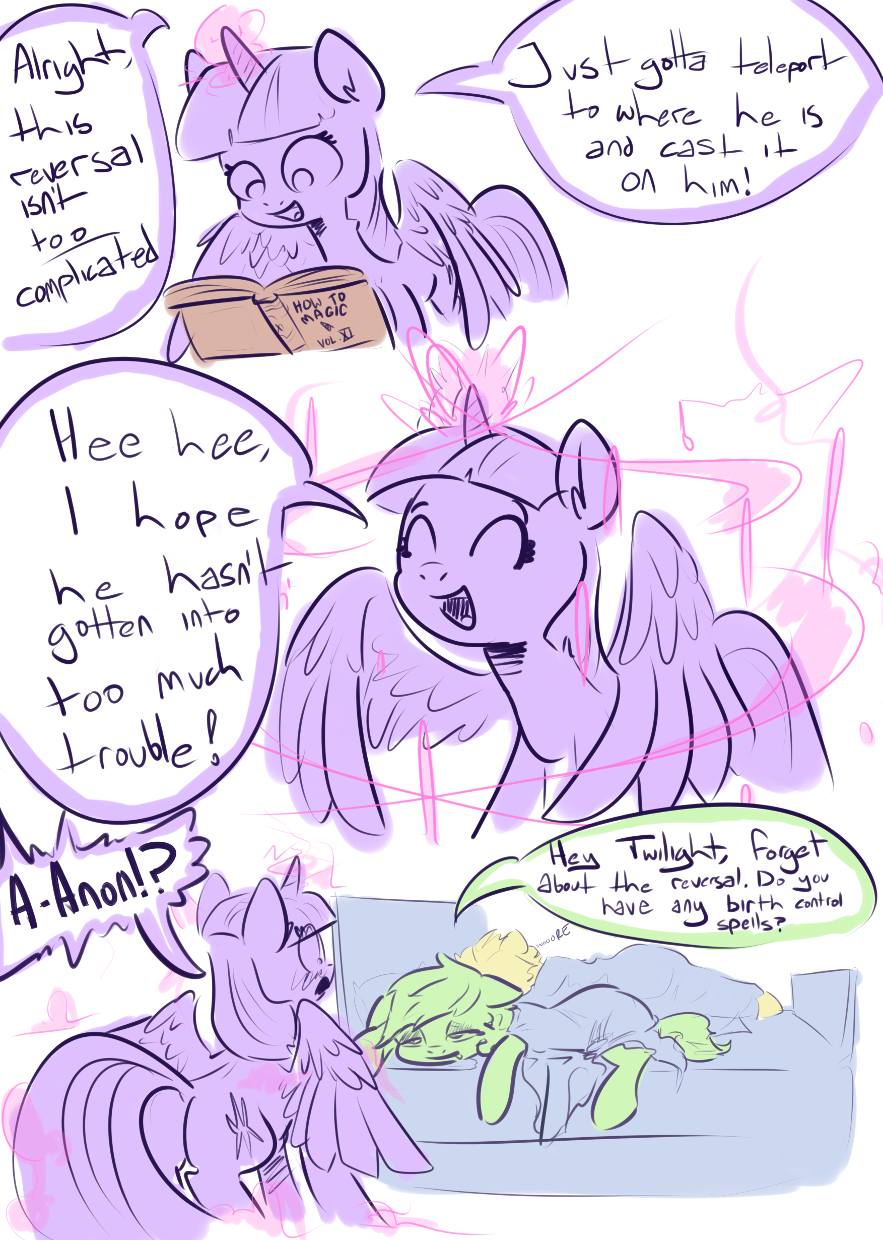 Anon Mlp Comic go through the alphabet before someone posts a my little