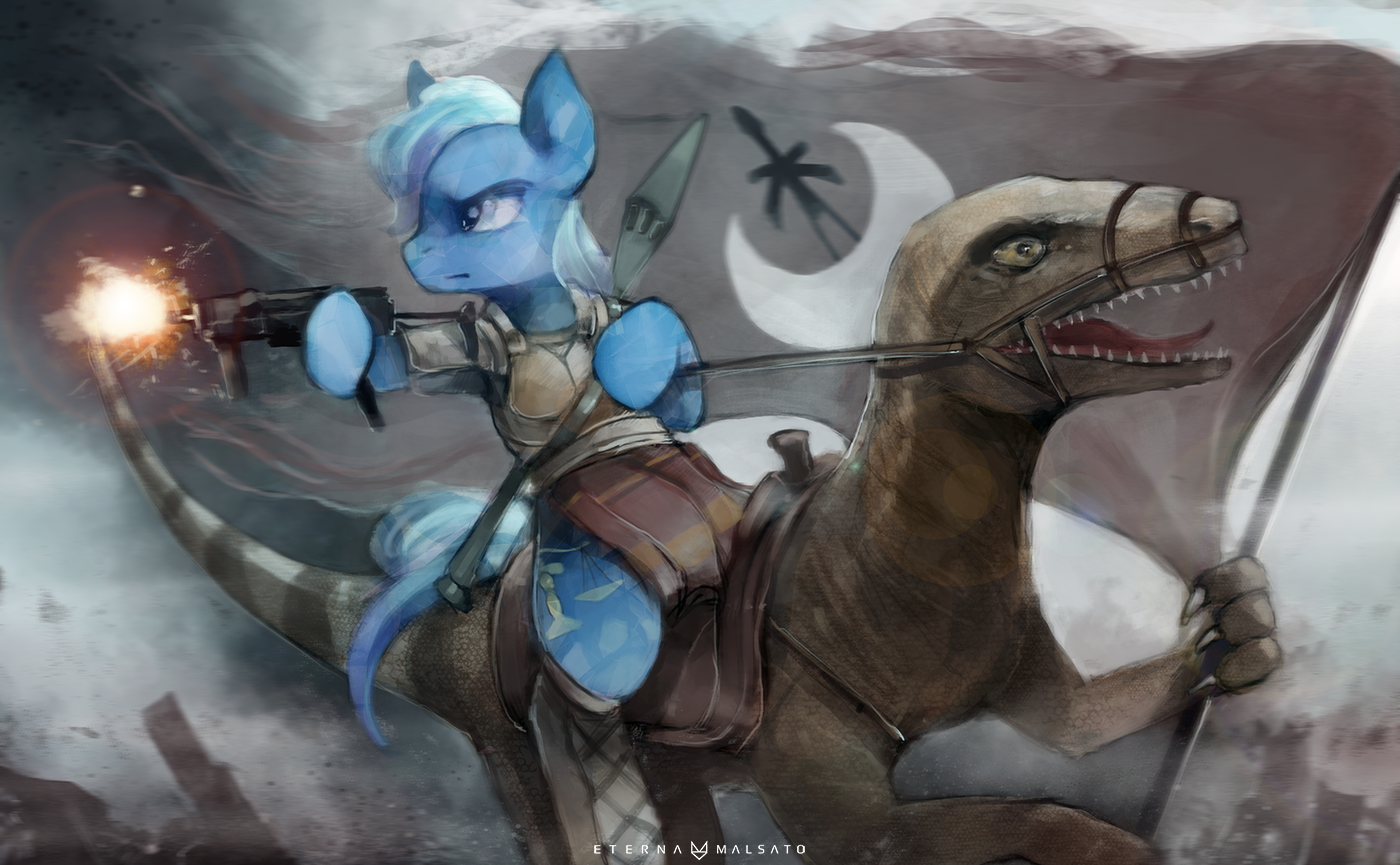 759775__safe_solo_oc_parody_gun_commission_crystal+pony_artist-colon-foxinshadow_epic_dinosaur.png
