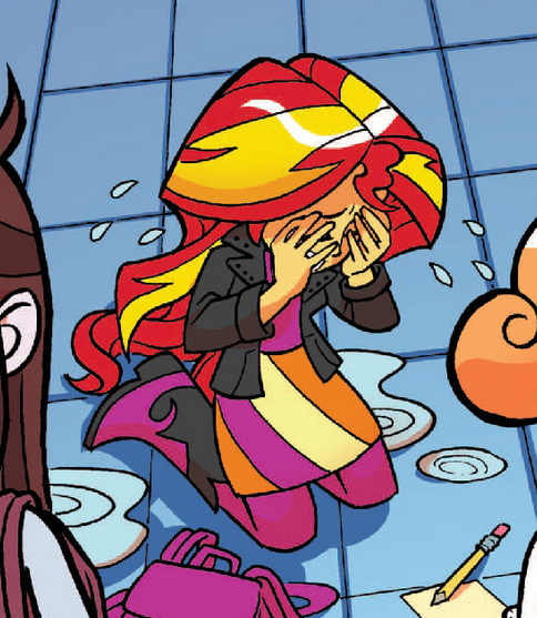 My little pony friendship is magic equestria girls sunset shimmer crying - photo#19