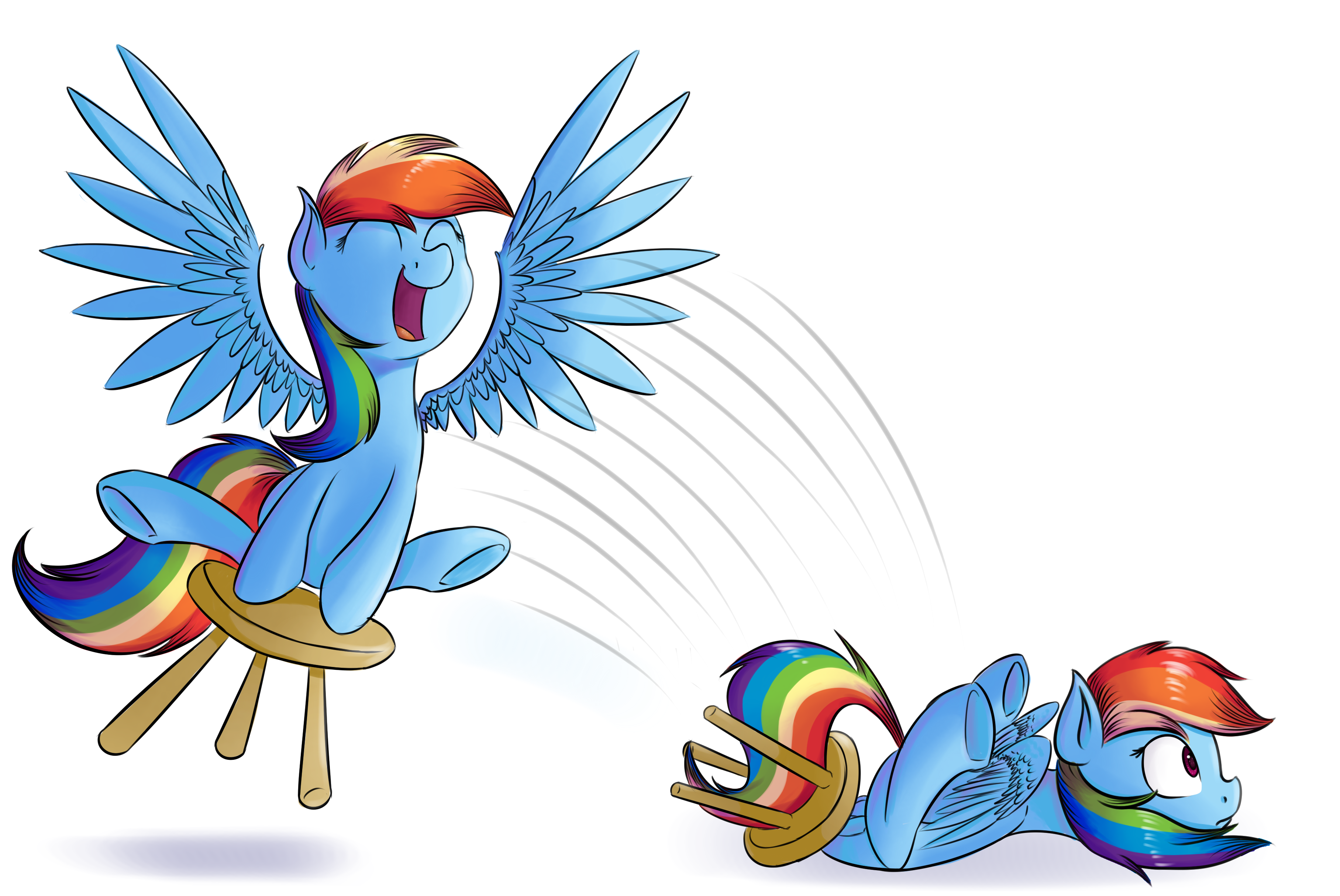 http://derpicdn.net/img/view/2014/4/6/593986__safe_solo_rainbow+dash_testing+testing+1-dash-2-dash-3_spoiler-colon-s04e21_dashabetes_chair_stool_artist-colon-crazypon3_stooldash.png