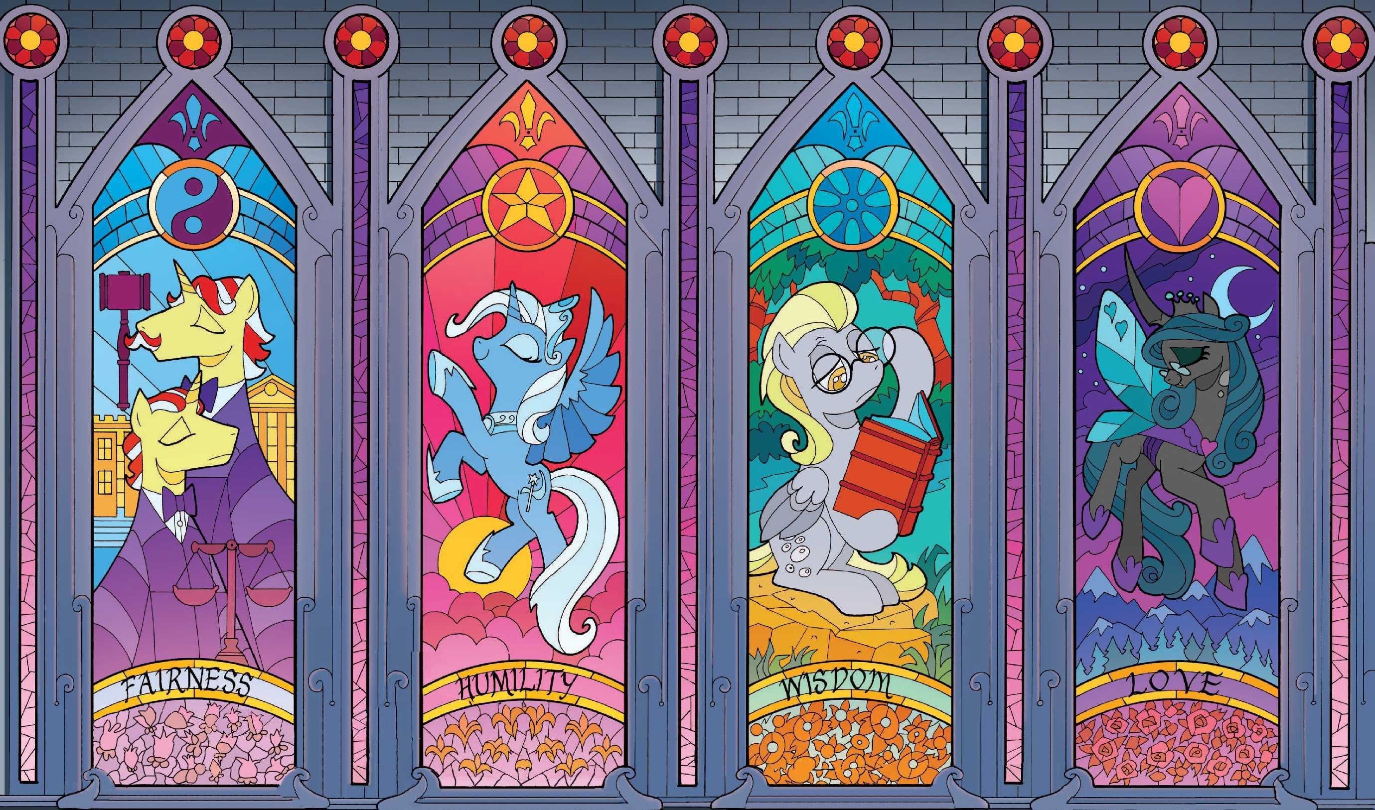 Main Six of the Mirror World by PonyBerserker mylittlepony