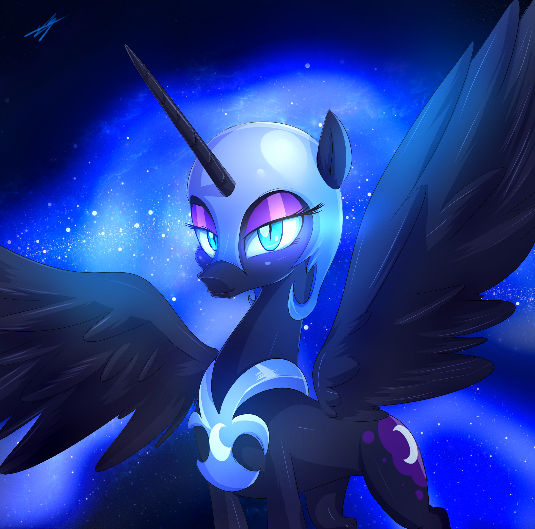 Official Nightmare Moon Art Thread Nightmare Moon Is The Best Pony Fimfiction