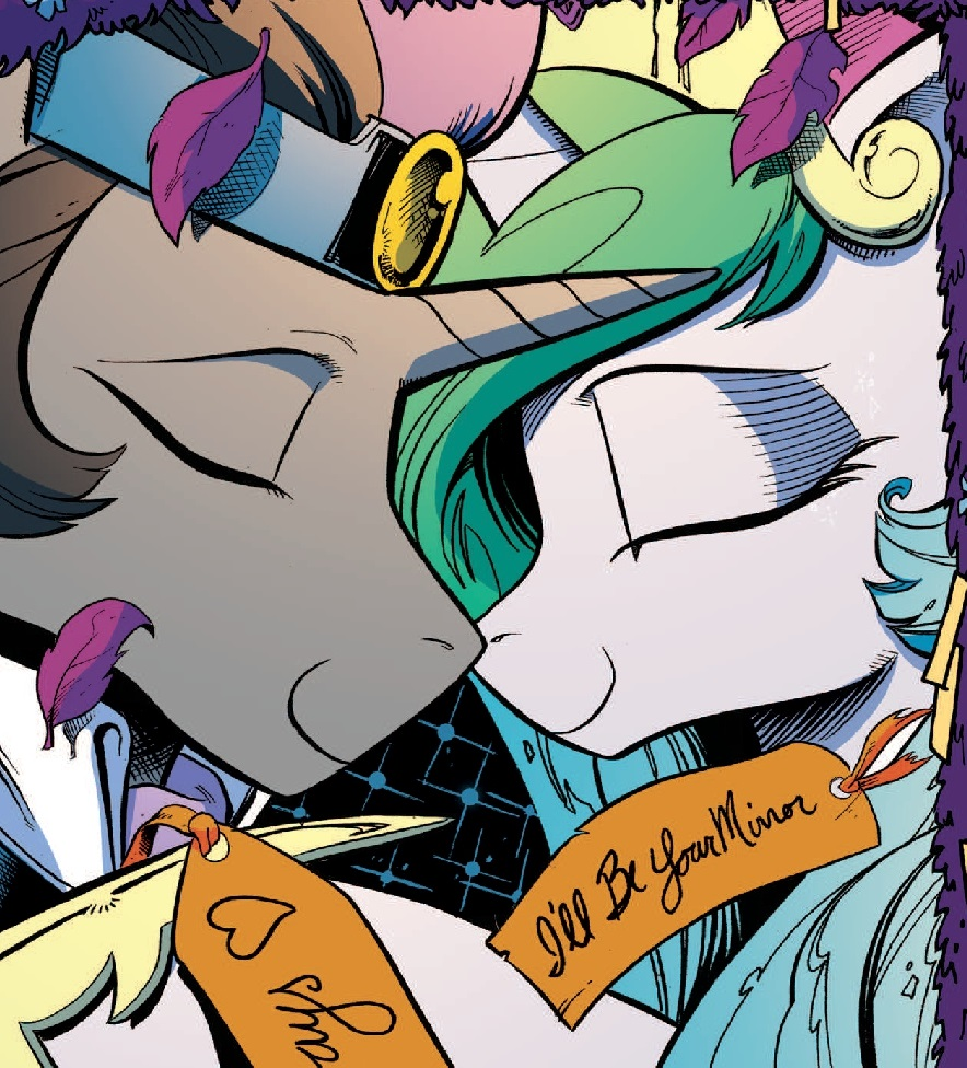 Comic issue 18 Mane 6 meet Sombra |King Sombra And Fluttershy Fanfic