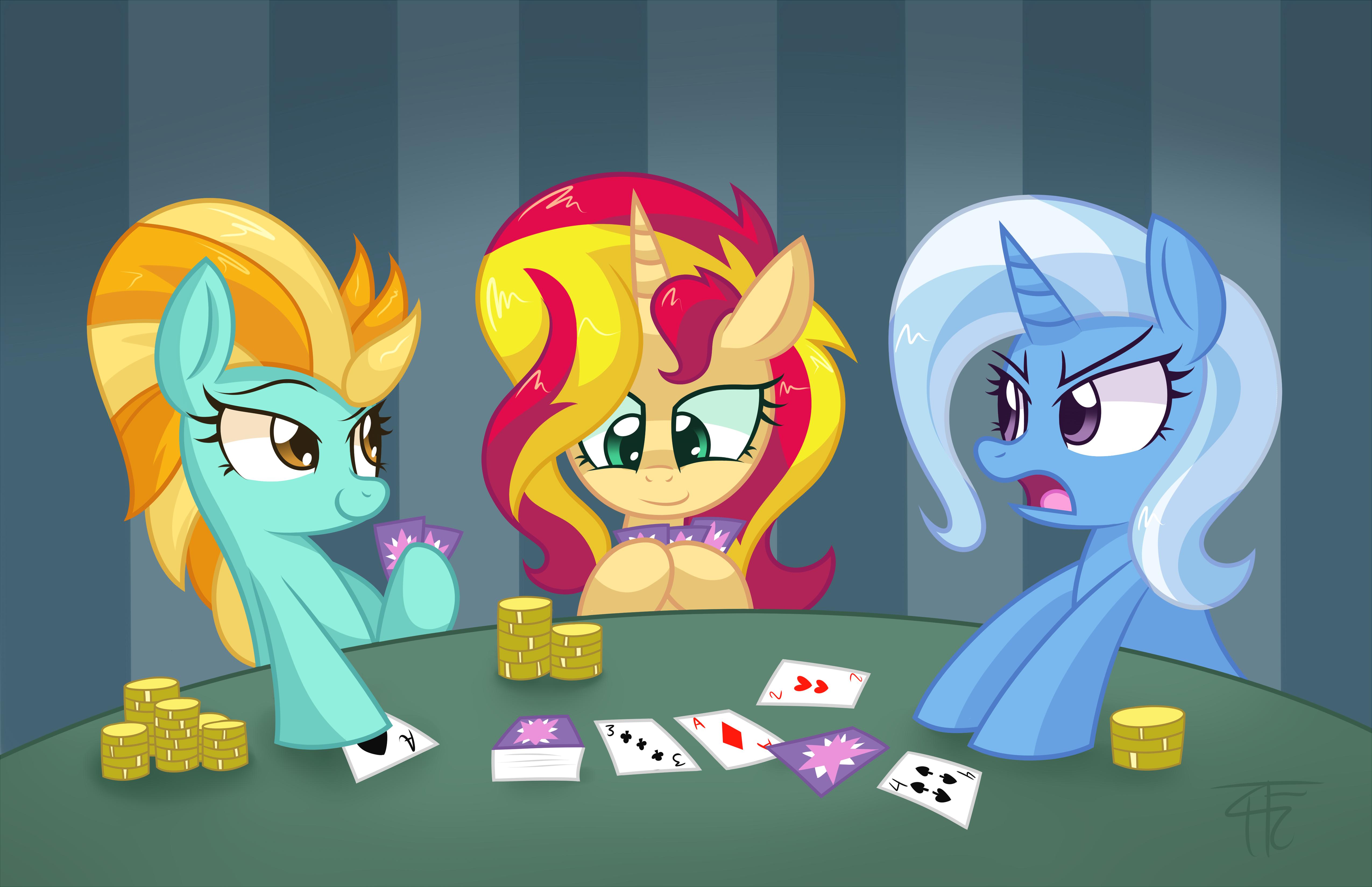 Sunset poker