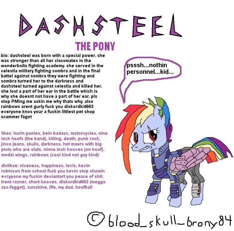 DASHSTEEL THE PONY : mylittlepony