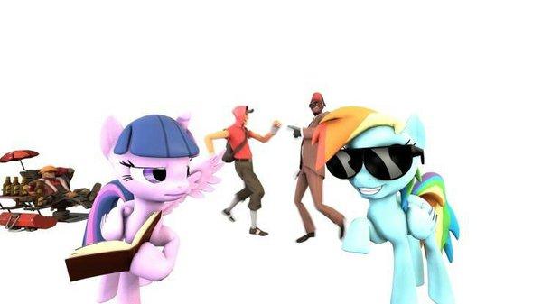 825813 - alicorn, conga, engineer, female, mare, party, pony