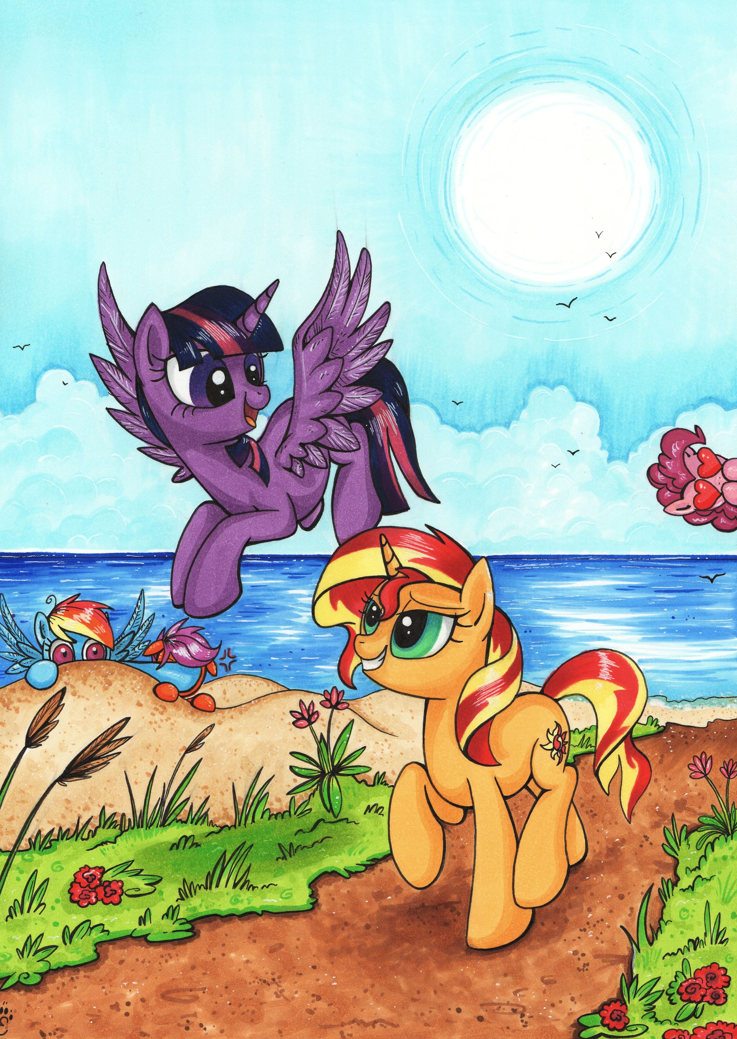 865372__safe_twilight+sparkle_rainbow+da