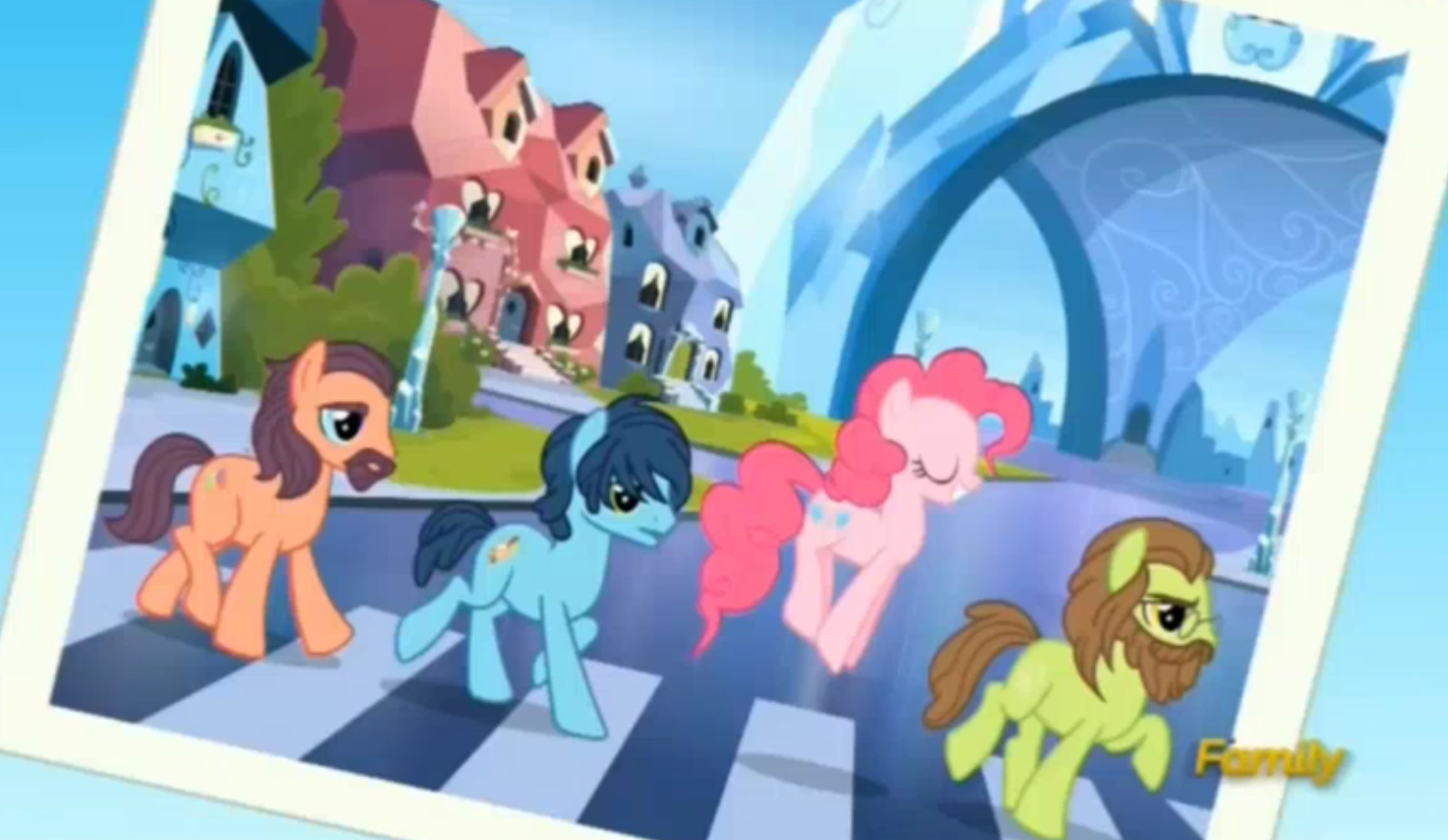 924911__safe_pinkie+pie_screencap_crystal+empire_discovery+family_pronking_spoiler-colon-s05e11_party+pooped_the+beatles_john+lennon.png
