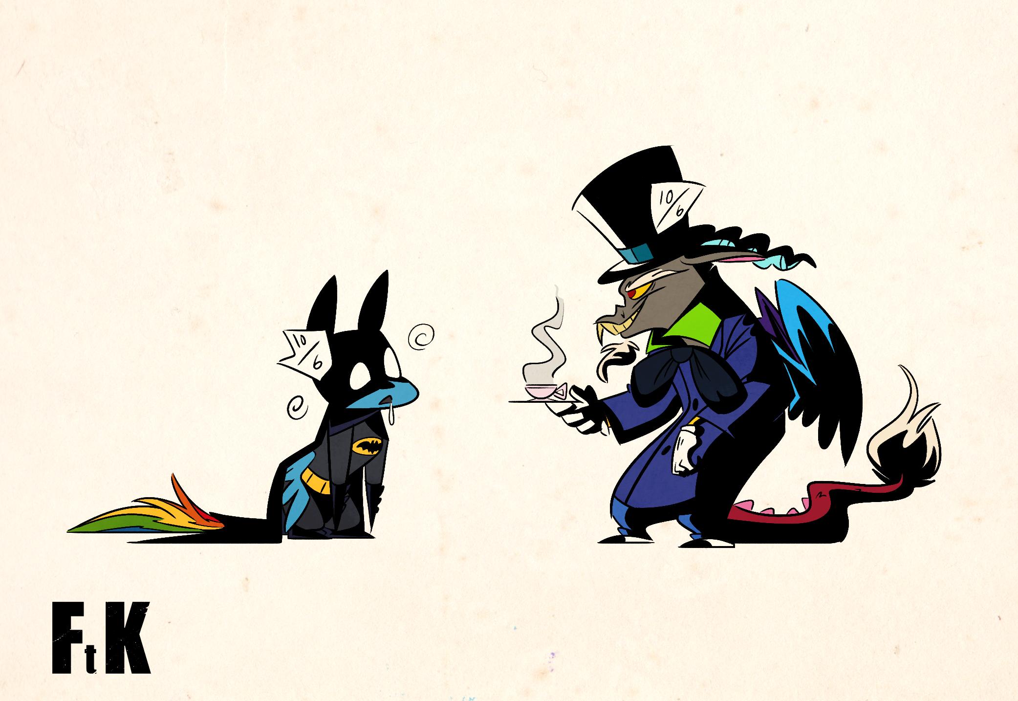 Pin by Batman on Bronies (With images) | Rainbow dash ...  |Batman Rainbow Dash