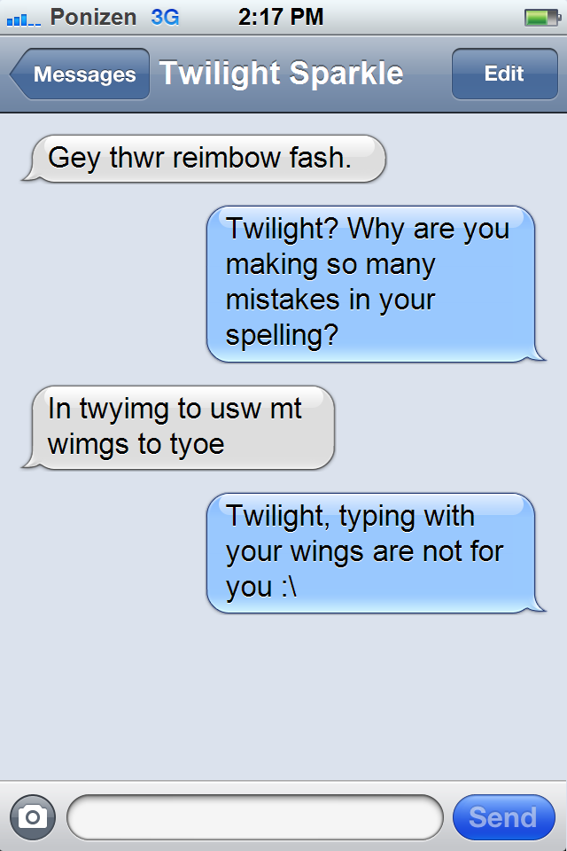 1058669__safe_rainbow+dash_twilight+sparkle_twilight+sparkle+%28alicorn%29_grammar+error_meme_phone_text_texts+from+ponies_wing+hands_wings 1058669 grammar error, meme, phone, rainbow dash, safe, text,Phone Text Meme