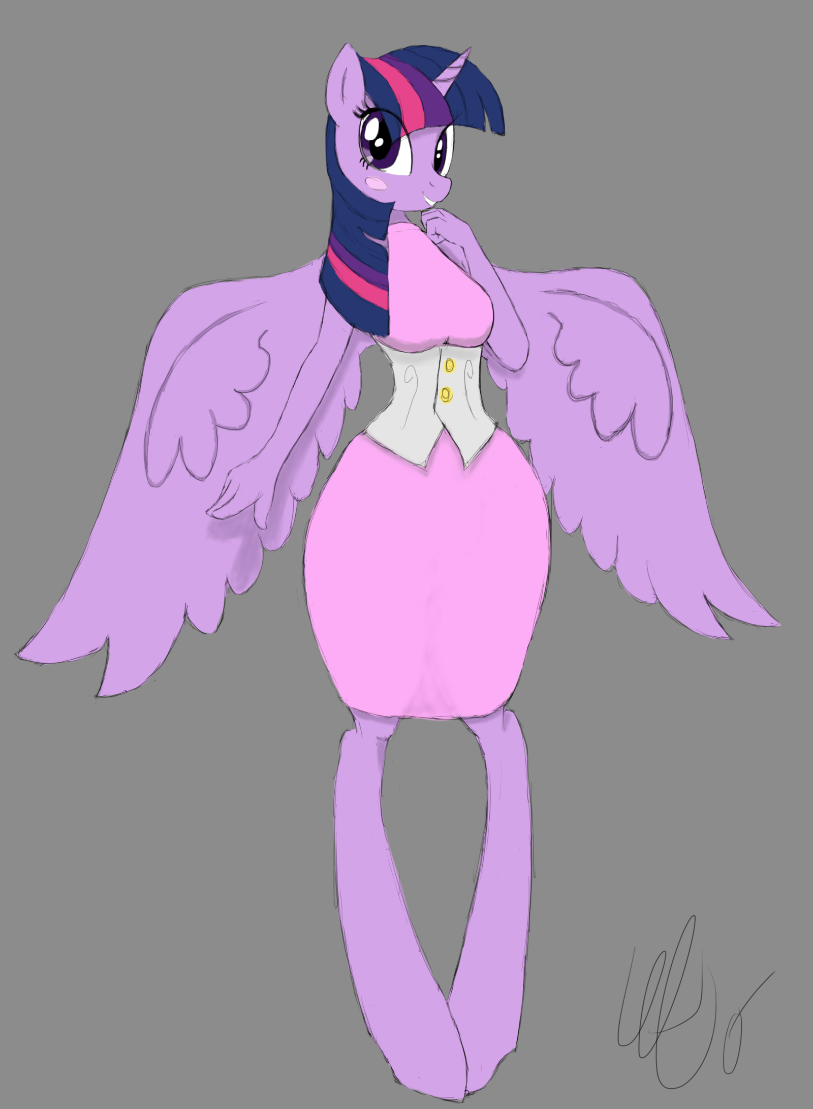 how to draw princess twilight sparkle