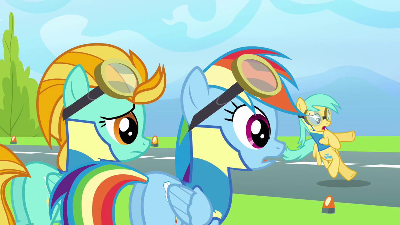 rainbow dash vs lighting - photo #39
