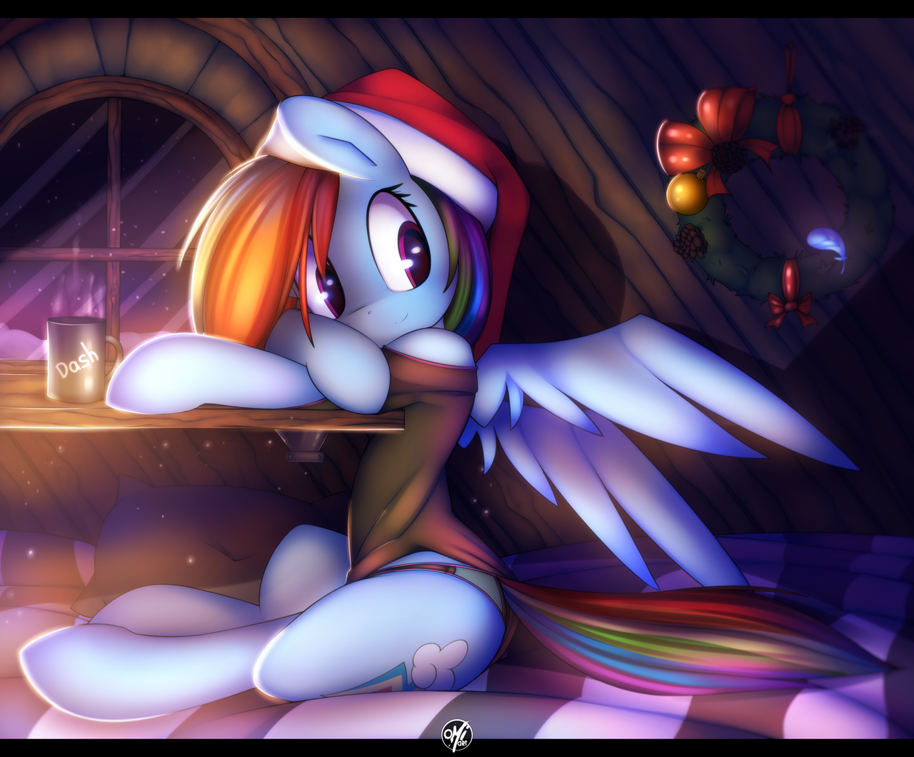 Cute trans rainbow dash spread out and fucked 8